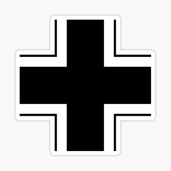 emblema de la wehrmacht Pegatina