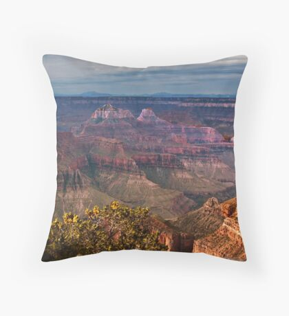Grand Canyon North Rim, AZ Throw Pillow