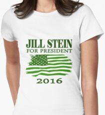 Jill Stein for president 2016 Women's Fitted T-Shirt