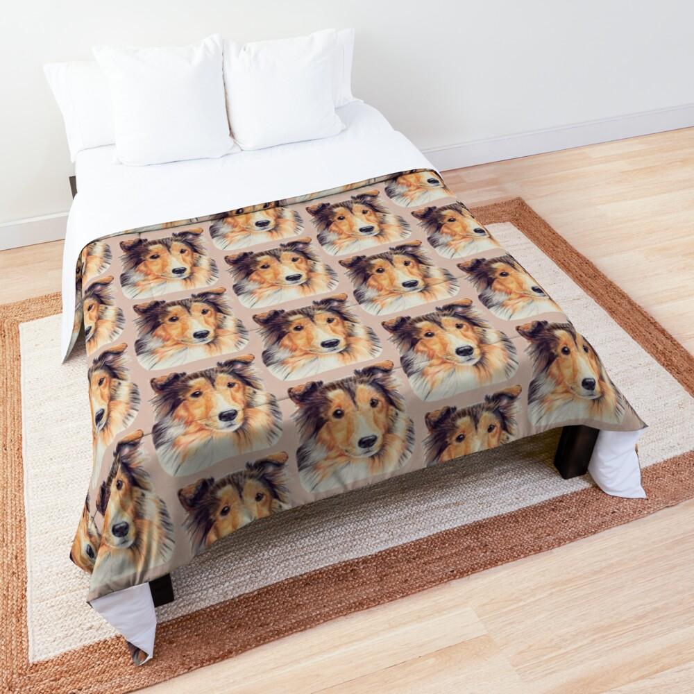 Shetland sheepdog Sheltie Comforter