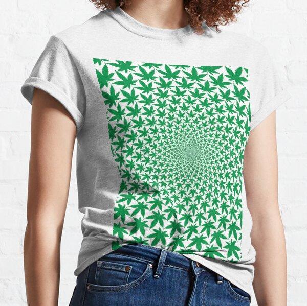 Geometric Cannabis Leaf!! Truth T-Shirts!! @realness112 Classic T-Shirt
