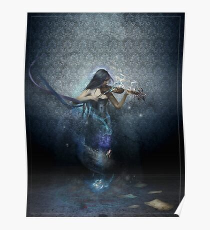 Muse of Music Poster