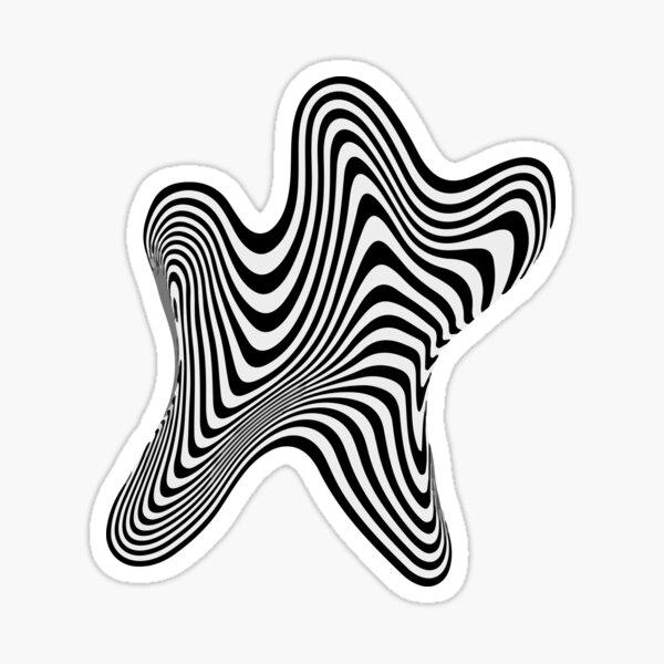 Liquid Illusion Sticker