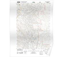 USGS Topo Map Oregon Rail Gulch 20110817 TM Poster