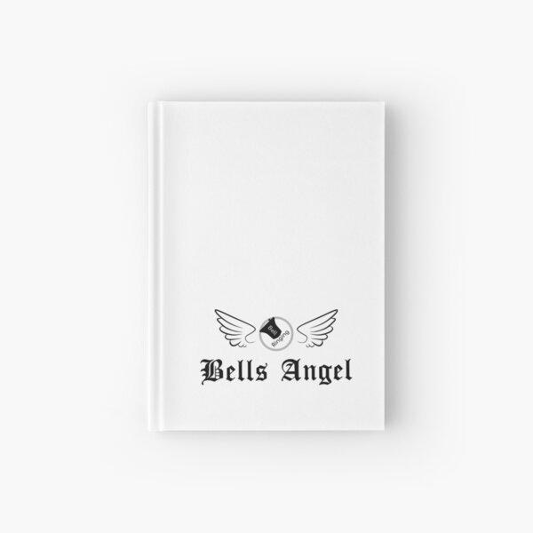 Bell Ringing - BELLS ANGEL - black text Hardcover Journal