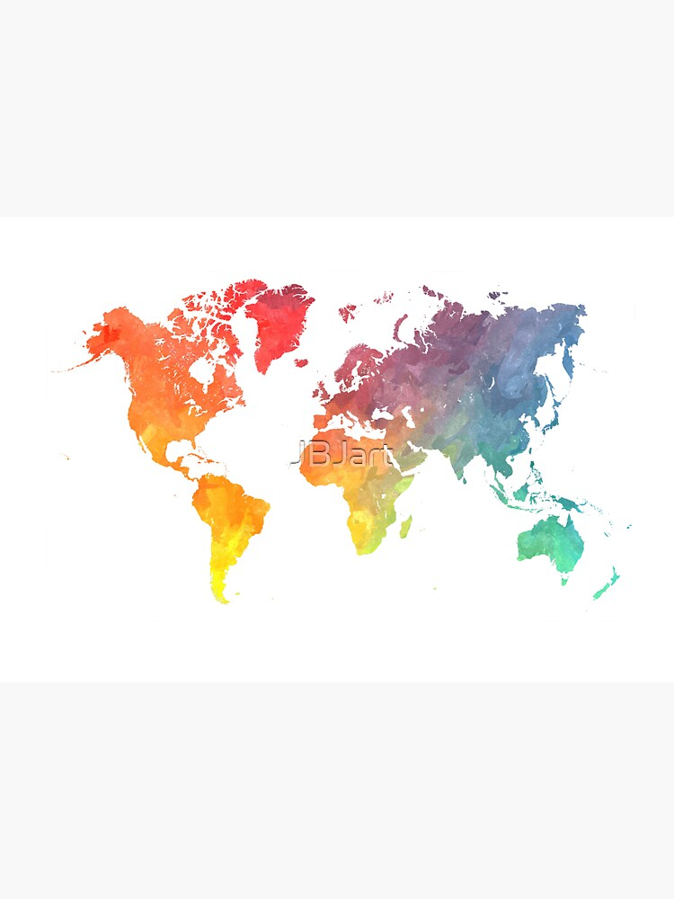 Map of the world colored by JBJart