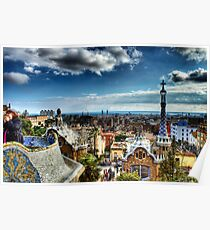 Parc Guell, Barcelona Poster