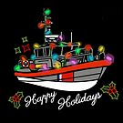 Coast Guard Lighted Boat Parade 45 RB-M by AlwaysReadyCltv