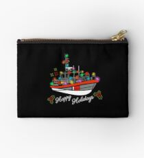 Coast Guard Lighted Boat Parade 45 RB-M Zipper Pouch