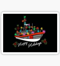 Coast Guard Lighted Boat Parade 45 RB-M Sticker