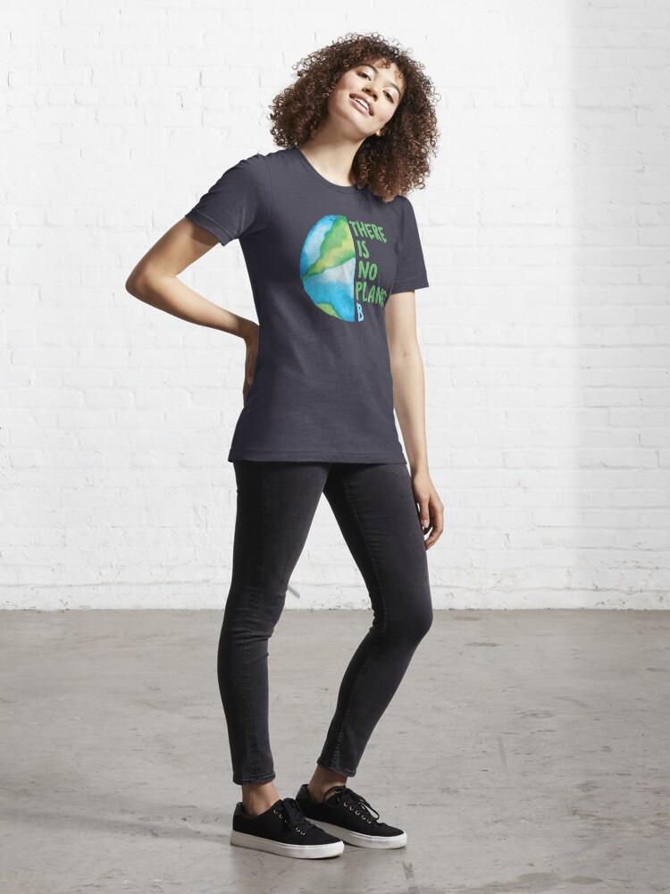 Alternate view of No Planet B Essential T-Shirt