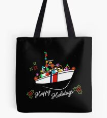Coast Guard Lighted Boat Parade 41 UTB Tote Bag