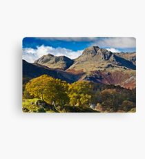 The Langdale valley Canvas Print