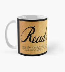 Read The Preamble Classic Mug