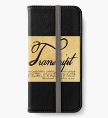 Read The Preamble iPhone Wallet/Case/Skin
