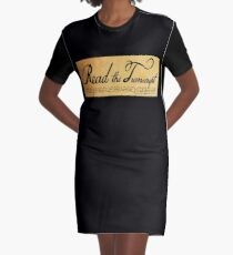 Read The Preamble Graphic T-Shirt Dress