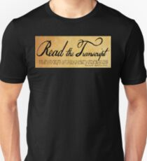 Read The Preamble Slim Fit T-Shirt