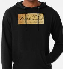 Read The Preamble Lightweight Hoodie
