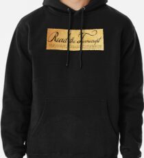 Read The Preamble Pullover Hoodie