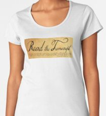Read The Preamble Premium Scoop T-Shirt