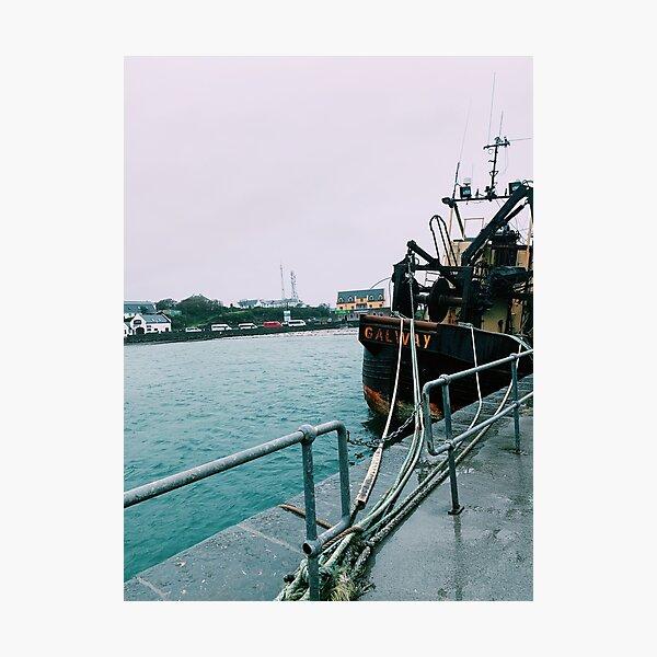 Inishmore Boat Photographic Print
