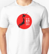 Japan Earthquake Unisex T-Shirt