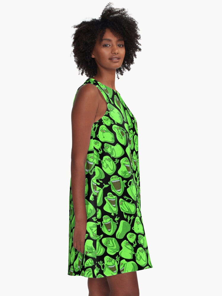 Alternate view of Fifty shades of slime A-Line Dress