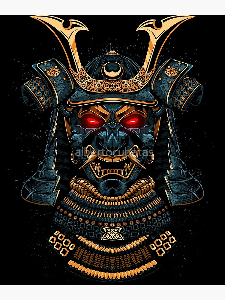 Awesome Samurai Gold by albertocubatas