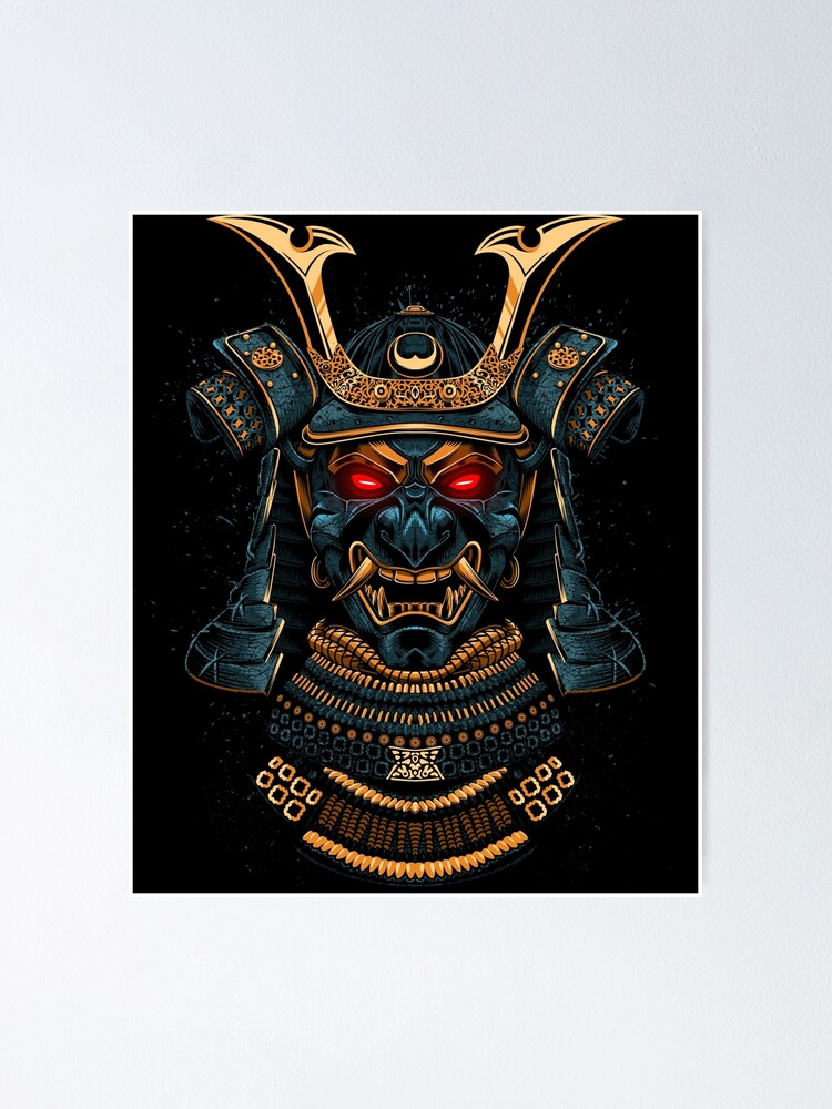 Alternate view of Awesome Samurai Gold Poster