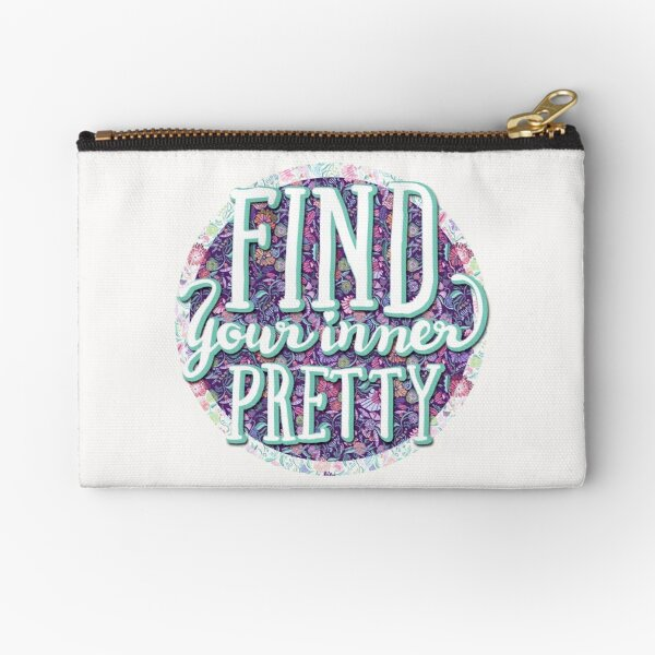 Find your inner pretty Zipper Pouch