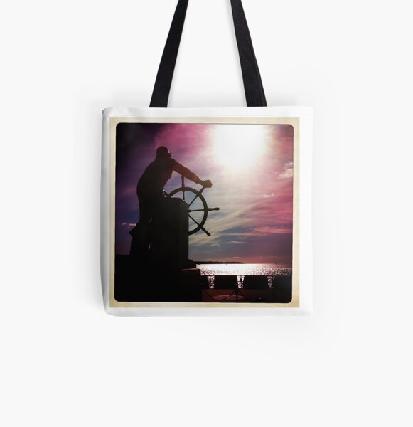 A Star to Steer By All Over Print Tote Bag
