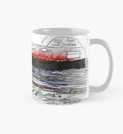 Narrowboat under bridge  Mug