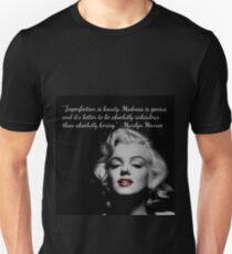 Marilyn Monroe Quote Unisex T-Shirt