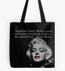 Marilyn Monroe Quote Tote Bag