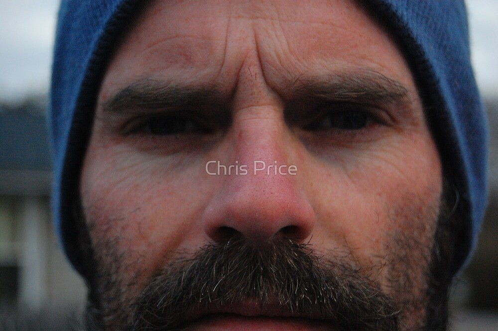 Blue Hat by Chris Price
