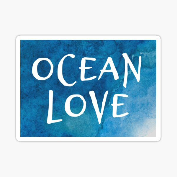 Ocean Love Sticker