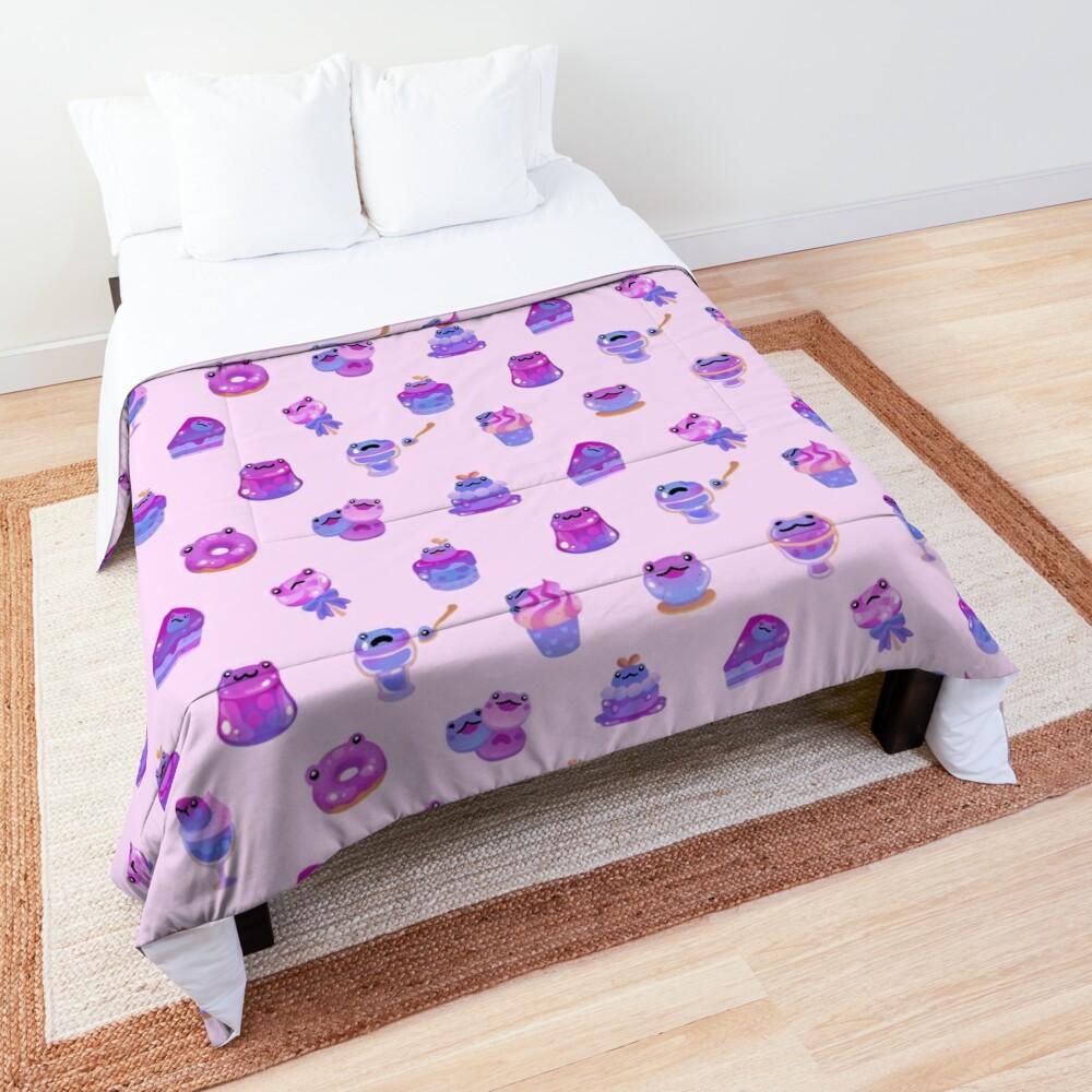 Blueberry frog Comforter