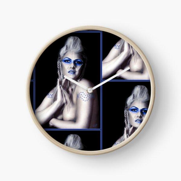 MIDNIGHT BLUE Clock