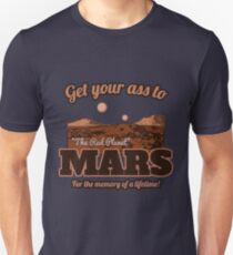 Get Your Ass to Mars version 2 Unisex T-Shirt