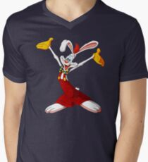 Roger Rabbit Men's V-Neck T-Shirt