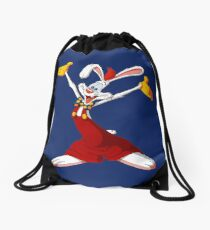 Roger Rabbit Drawstring Bag