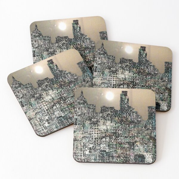 London Culture  Coasters (Set of 4)