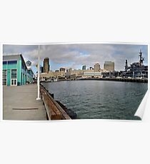 Dock of the Bay- San Diego, California Poster