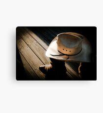 Shrunken Cowboy Canvas Print