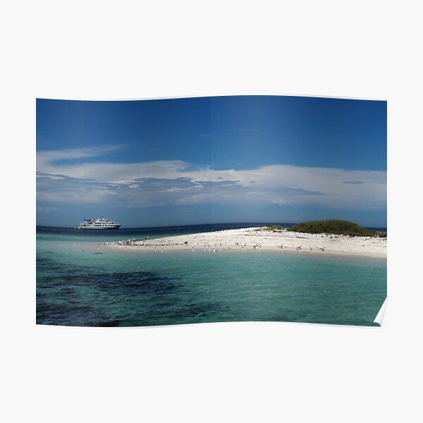 Sea Lion Cay Poster