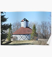 Round barn Windsor,Indiana Poster