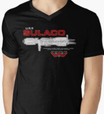 U.S.S. Sulaco - Aliens Men's V-Neck T-Shirt
