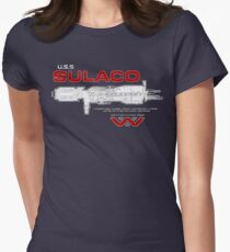 U.S.S. Sulaco - Aliens Womens Fitted T-Shirt