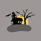 Spooky Haunted House by Cherie Balowski