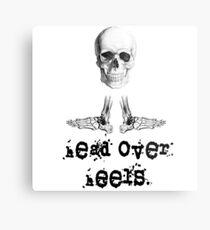 Head Over Heels Metal Print